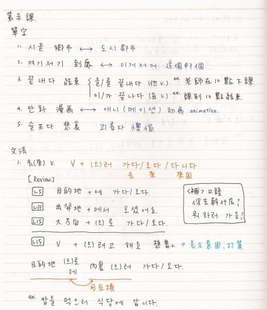 韓文30課-1