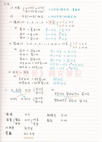韓文第八課-2